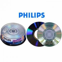 Dvd mini Philips 1.4 Gb 30...