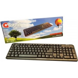 TECLADO GLOBAL K103BkUSB...