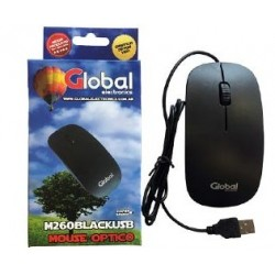 MOUSE USB  M260 GLOBAL NEGRO