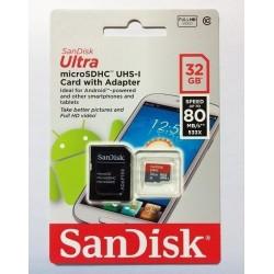 Memoria Micro Sd 32Gb Clase...