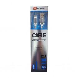 Cable MicroUsb 3mts Kosmo...