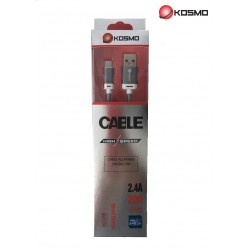 Cable Tipo C  2 metros 2.4A...