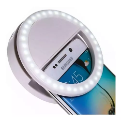 Selfie ring aro de luz led...
