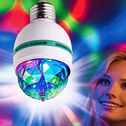 Lampara Led Giratoria RGB
