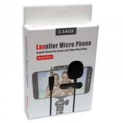 Microfono Corbatero c/clip...