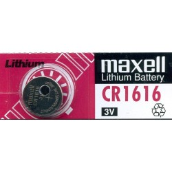 Pila Reloj  Maxell CR1616 3V
